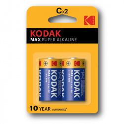 Kodak Max KC2 (LR14) 2-pack