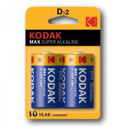 Kodak Max KD2 (LR20)  2-pack
