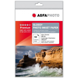 AgfaPhoto Premium Photo Glossy Paper 240 g 10x15 cm 100 Sheets