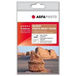 AgfaPhoto Photo Glossy Paper 210 g 10x15 cm 100 Sheets