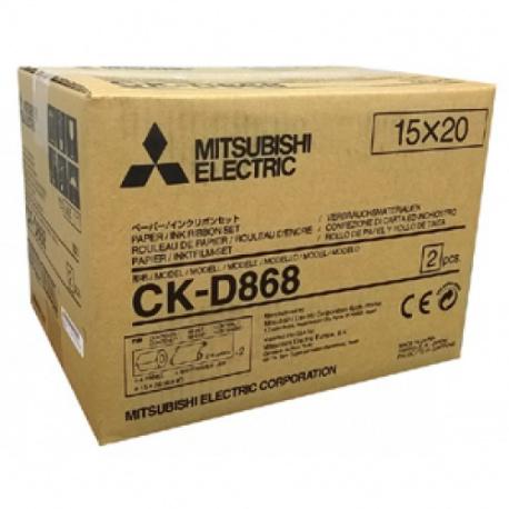 Mitsubishi CK-D868 2x430 prints (10x15)