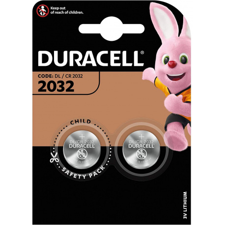 Duracell DL 2032 2-pack Lithium 3V