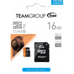 TeamGroup microSDHC 32GB Class 10 with Adapter