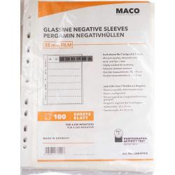 Maco 135 negative siles 100 sheets