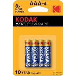 Kodak Max K3A  (LR03) 4-pack