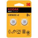 Kodak CR-1632 2-pack