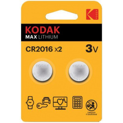 Kodak CR-2016 2-pack (price per battery)