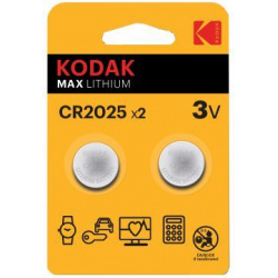 Kodak CR-2025 2-pack (price per battery)