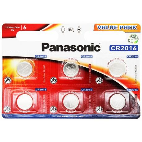 Panasonic CR 2016 (τιμή μονάδας)