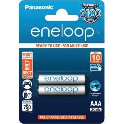 Panasonic Eneloop AAA NiMH 750 mAh 2-pack