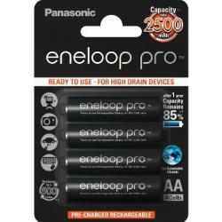 Panasonic Eneloop PRO AA NiMH 2500 mAh 4-pack