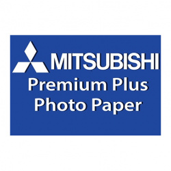 "Mitsubishi RC Inkjet Photo Paper 6x8""/15,2x20,3 cm Glossy 250 gsm (100 sheets)"
