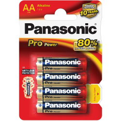 Panasonic LR 06 /AA Pro Power Gold  4-PACK