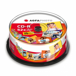 AgfaPhoto CD-R 700 MB 25-pack Cakebox
