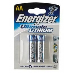 Energizer AA Lithium Ultimate L91 2-PACK