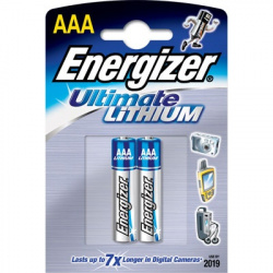Energizer AAA Lithium Ultimate L92  2-PACK