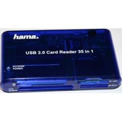 Hama Card Reader Writer 35 in 1 USB 2.0 55348