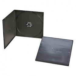 CD CASE SOFT SLIM black