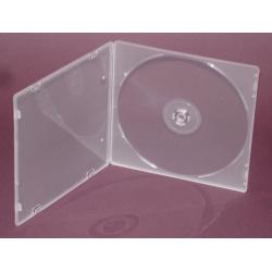 CD CASE SOFT SLIM clear