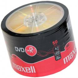 MAXELL DVD-R 4.7GB 16X 50-pack bulk
