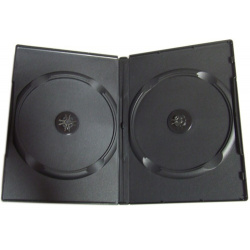 DVD CASE double black 14mm