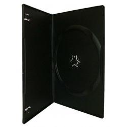 DVD CASE single black slim  7mm