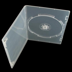 DVD CASE single clear slim 7mm