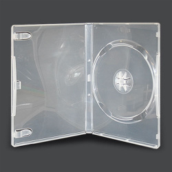 DVD CASE single clear 14mm