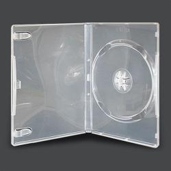 DVD CASE single clear 14mm