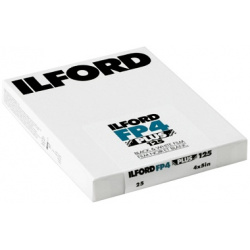 Ilford FP4 plus 125 4x5 (10,2 x 12,7 cm) / 25 sheets