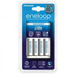 Panasonic Eneloop Basic Charger + 4 AA 1900
