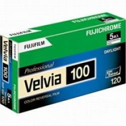 Fuji Velvia RVP 100 120 / 5-Pack