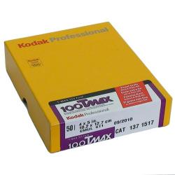 "Kodak TMX 100 4x5""  50 sheets"