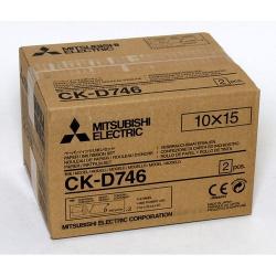 Mitsubishi CK-D746 2x400 prints  10x15