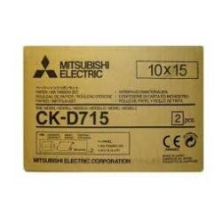 Mitsubishi CK-D715 2x400 prints  10x15