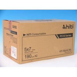 HiTi Thermopaper 13x18cm/2x190 prints  for Printer P510
