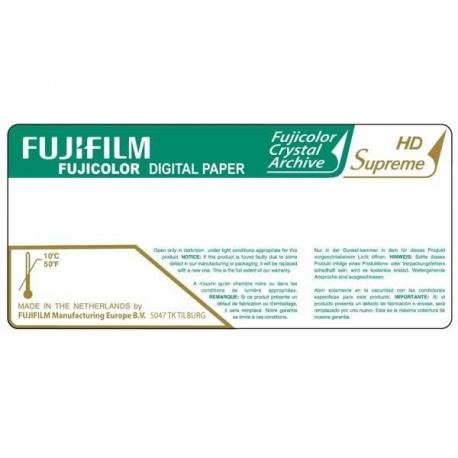 Fuji  HD Supreme 25,4 cm x 83,8 mtr glossy