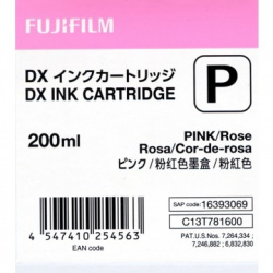 Fuji Drylab INK 200ml pink for DX100