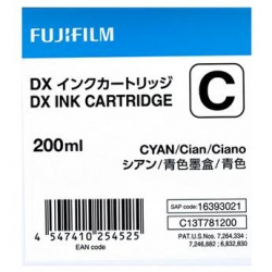 Fuji Drylab INK 200ml cyan for DX100