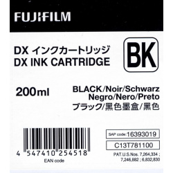 Fuji Drylab INK 200ml black for DX100