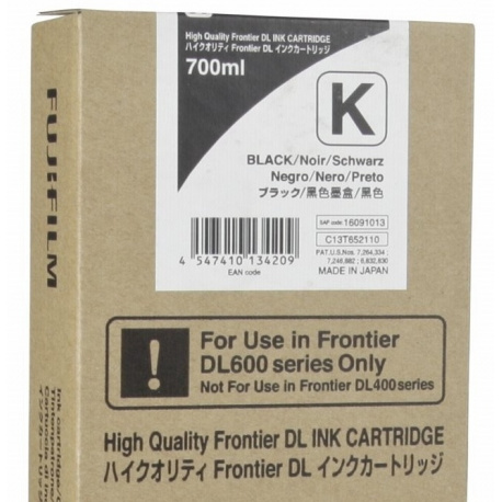 Fuji Drylab INK 700ml black for DL 600/650