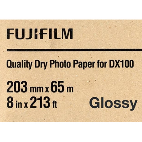 Fuji Drylab DX100 20,3 cm x 65 mtr Glossy  for Frontier DX100