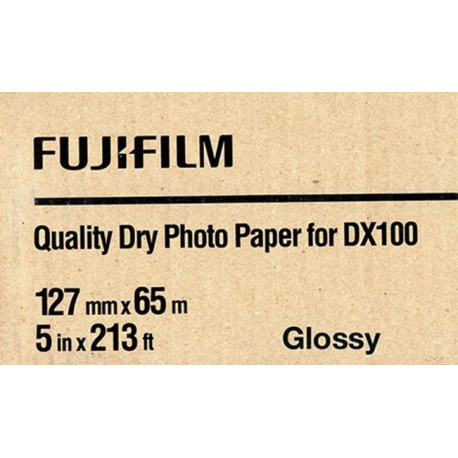 Fuji Drylab DX100 12,7 cm x 65 mtr Glossy  for Frontier DX100