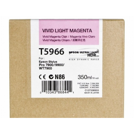 EPSON T 5966 LIGHT MAGENTA
