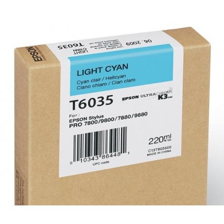 EPSON T 6035 LIGHT CYAN