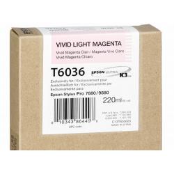 EPSON T 6036 VIVID LIGHT MAGENTA