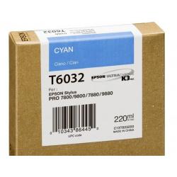 EPSON T 6032 CYAN