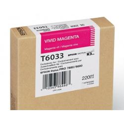EPSON T 6033 VIVID MAGENTA