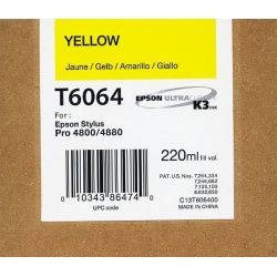 EPSON T 6064 YELLOW