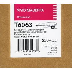 EPSON T 6063 VIVID MAGENTA